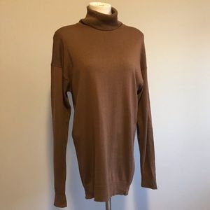 T.S.E. Cashmere turtle neck sweater